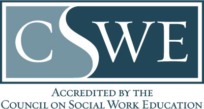 Accredited by the Council on Social Work Education (CSWE)